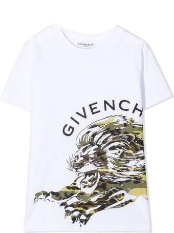 Givenchy White Cotton T-shirt