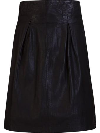 Bully Leather Skirt