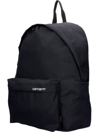 Carhartt Backpack In Black Synthetic Fibers
