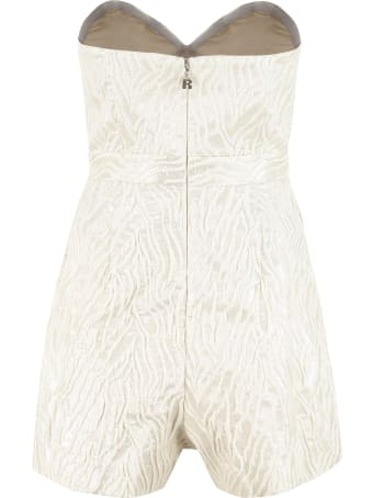 Rotate by Birger Christensen Lana Off-the-shoulder Jumpsuit