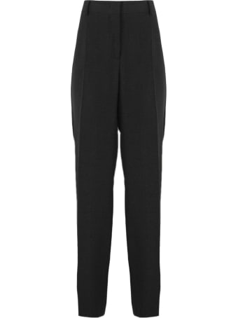 Alberta Ferretti Tailored Black Suit Trousers