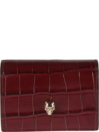 Alexander McQueen Chain Extra Shiny Card Holder