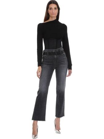 RTA Knitwear In Black Cashmere
