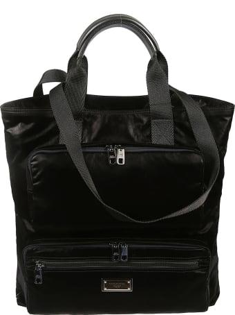 Dolce & Gabbana Front Pockets Shopper Bag
