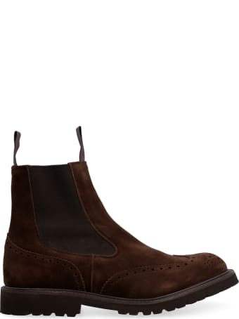 Tricker's Henry Suede Chelsea Boots