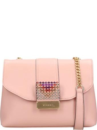 Visone Pink Leather Alice Bag