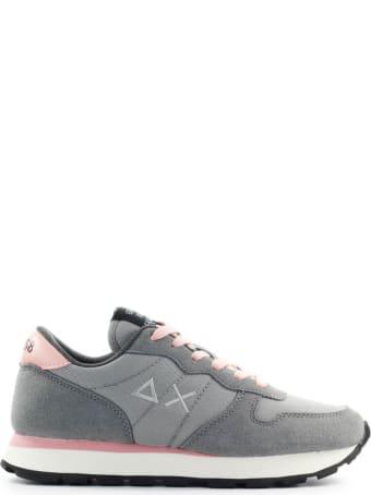 Sun 68 Sun68 Ally Solid Light Grey Sneaker