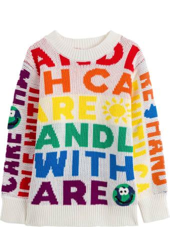 Stella McCartney Kids Multicolor Cotton Sweater