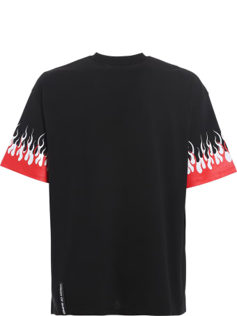 Vision of Super Tshirt Double Flames