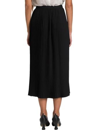 Dries Van Noten Pleated Midi Skirt