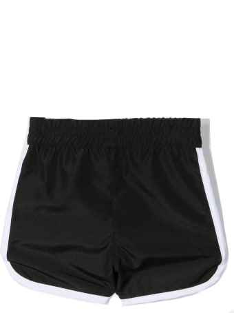 Givenchy Black Shell Shorts