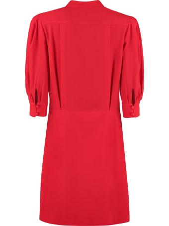 Givenchy Mandarin Shirt Collar Dress