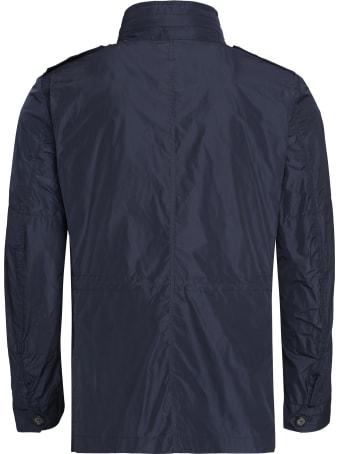 Add Techno Fabric Raincoat