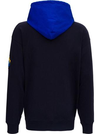 Moncler Blue Hoddie By Jw Anderson