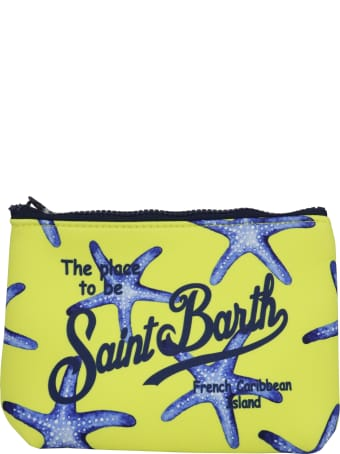 MC2 Saint Barth Aline South Star 94 Pocket Square
