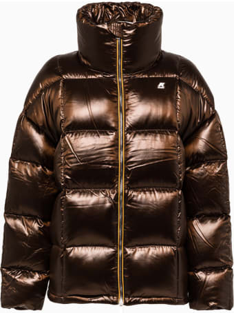 K-Way Stephanie Heavy K-way Down Jacket K11brv