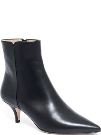 Roberto Festa Ankle Boot In Black Leather