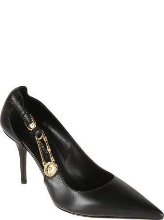 Versace Safety Pin Pumps