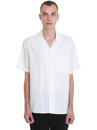 Ami Alexandre Mattiussi Shirt In White Cotton