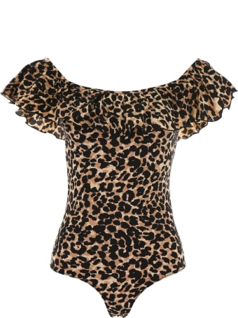 LOVE Stories Leopard-printed Jazzy Swimsuit