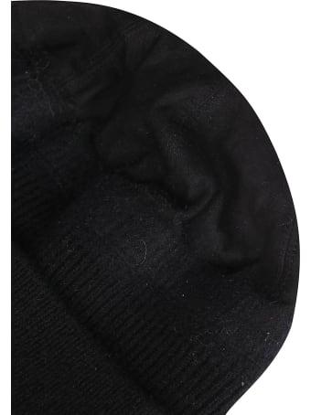 CA4LA Black Leather Hat