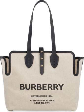Burberry The Belt Canvas Tote