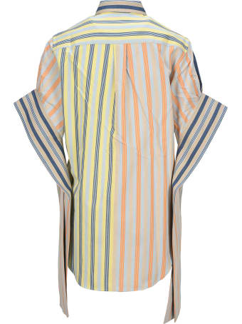 J.W. Anderson Jw Anderson Parasol Round Hem Exaggerated Sleeve Shirt