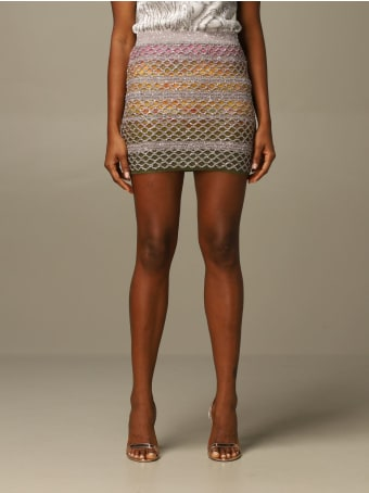 Missoni Skirt Missoni Skirt In Mesh Lurex Wool Knit