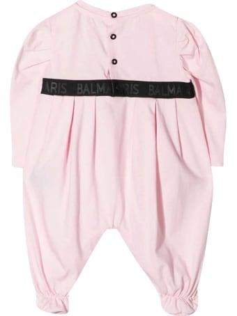Balmain Pink Onesie