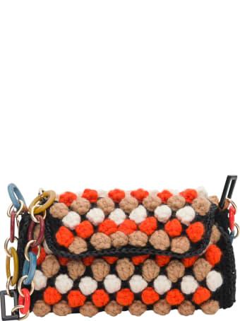M Missoni Knitted Crossbody Bag