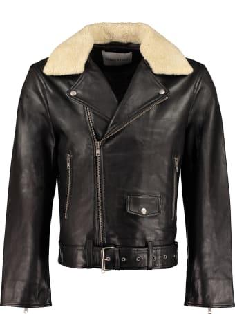 STAND STUDIO George Leather Jacket