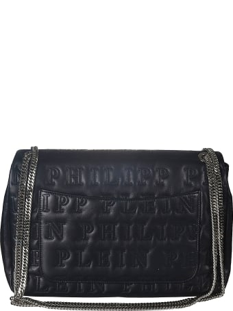 Philipp Plein Quilted Logo Shoulder Bag