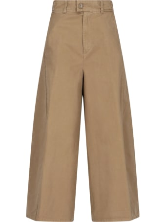 Aspesi Wide Leg Trousers