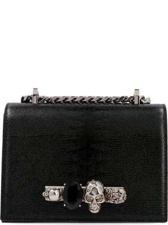 Alexander McQueen 'jeweled Satchel' Mini Bag
