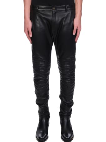 Jacob Lee Pants In Black Leather