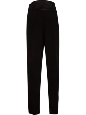 Emporio Armani High Pleated Waist Trousers