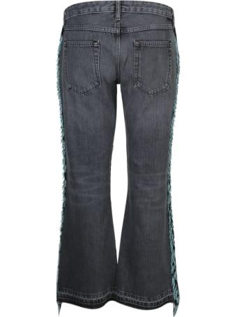 Alanui Embroidered Flared Jeans