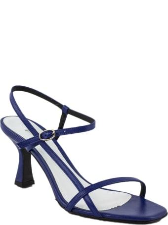 Roberto Festa Blue Leather Geneve Sandal