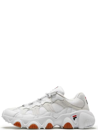 Fila Sneakers Jagger Row In White Color Fabric