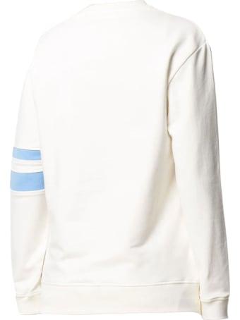 Alberta Ferretti White Stretch-cotton Sweatshirt
