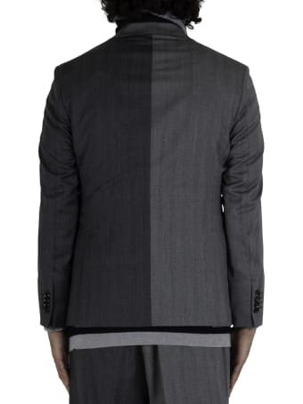 LC23 2 Colors Spigato Blazer - Grey
