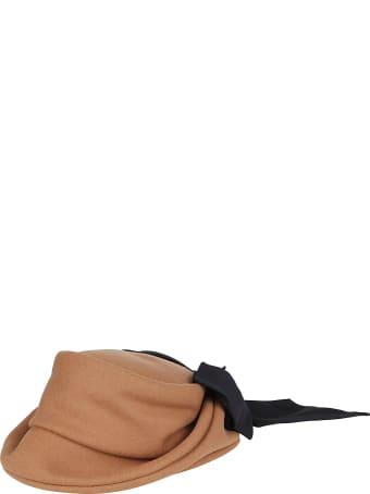 CA4LA Camel Wool Blend Hat