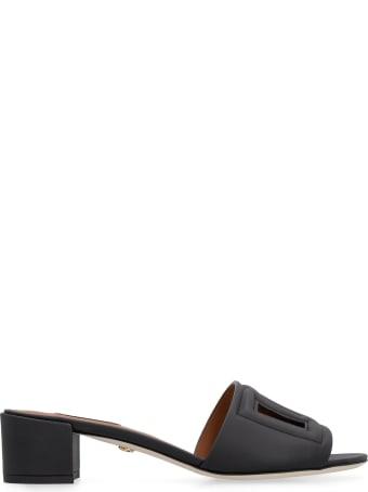 Dolce & Gabbana Leather Mules