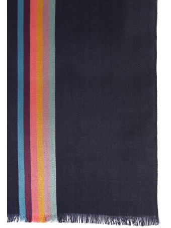 Paul Smith Wool And Silk Scarf