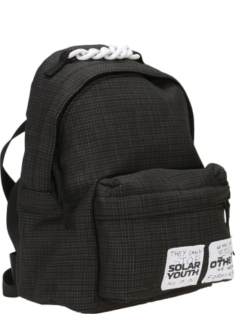 Eastpak by Raf simons Raf Simons Pak'r Xs Small Check Backpack