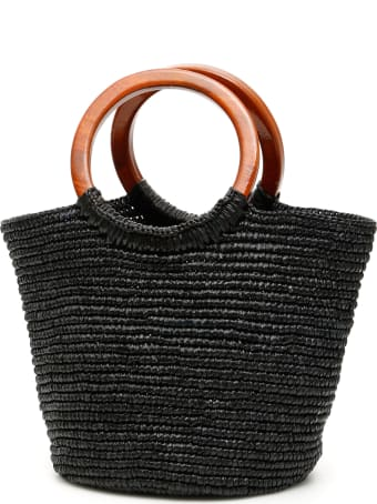 Sensi Studio Wicker Bag