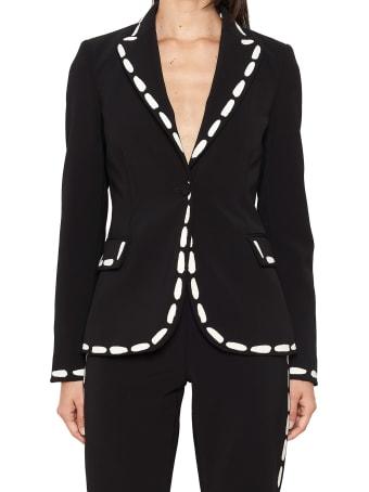 Moschino 'stitching' Jacket