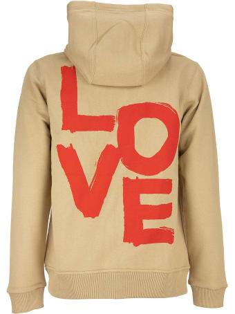 Burberry Daley - Love Print Cotton Hooded Top