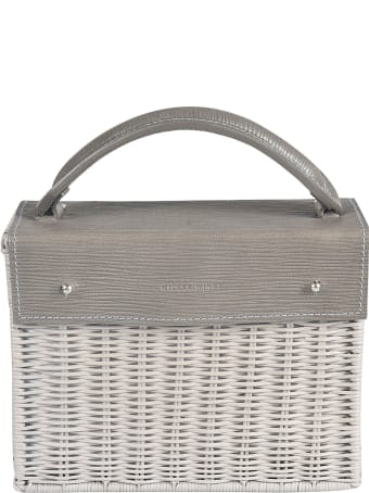 Wicker Wings Weaved Bucket Tote