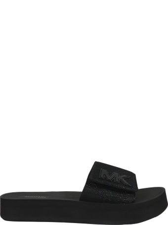 Michael Kors Platform Slide Flat Shoes